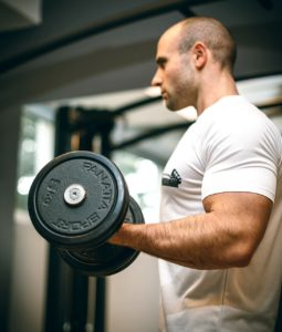 Lifting Dumbbells: An Example of Strength Exercise
