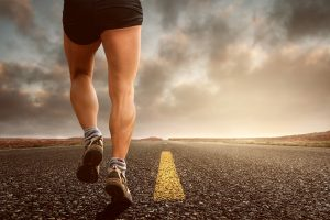 A Runner with Increased Energy as One of The Benefits of Regular Exercise